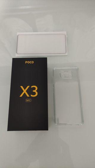 XIAOMI POCO X3 NFC 6/64 GB GRIS NUEVO