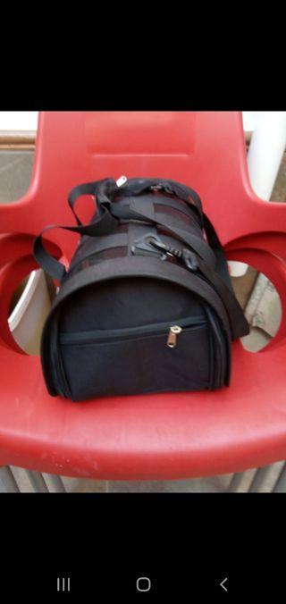 bolsa mochila transporte para gatos