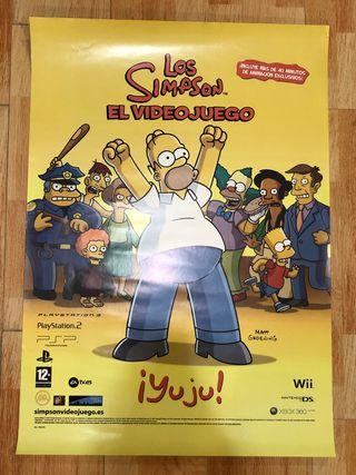 LOS SIMPSON EL VIDEOJUEGO póster 2007