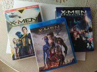 X-Men Trilogía Precuelas Blu-Ray