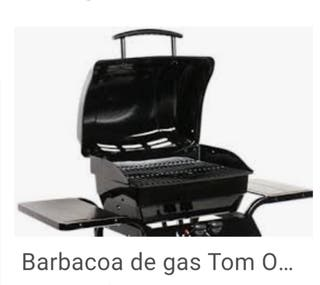 Barbacoa a gas TOM