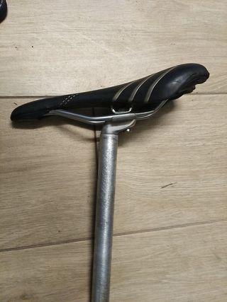 asiento bicicleta antiprostático