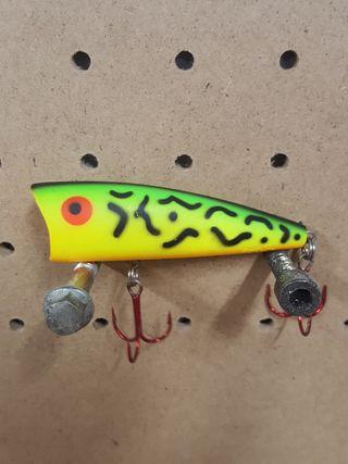 señuelo pesca rebel pop r