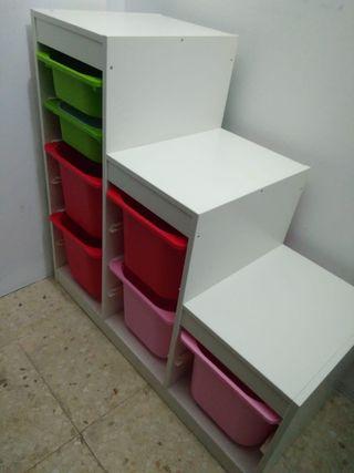Mueble Ikea almacenaje niños