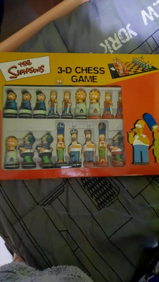Ajedrez 3d Simpsons