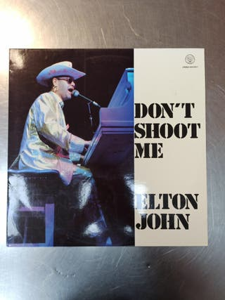 Elton John, Don't Shoot Me, Vinilo