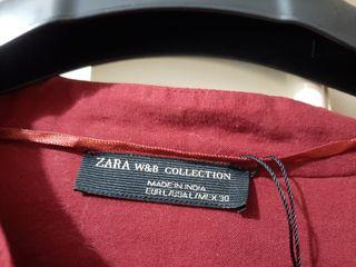 chaqueta étnica Zara