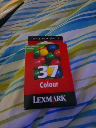 cartucho de tinta para impresora Lexmark