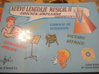 libros de música segundo y tercero