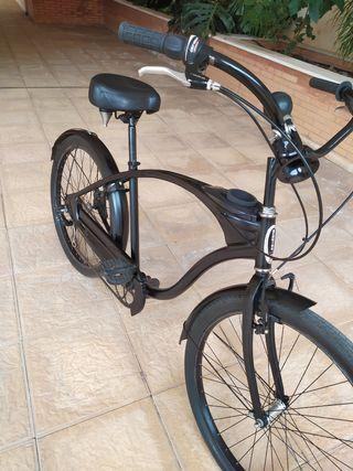 Bicicleta de paseo tipo cruiser