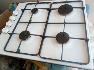placa de cocina de gas de cuatro fuegos