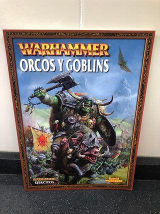 Códex Orcos y Goblins - Warhammer.