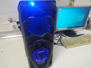 PC Gaming 12 hilos SSD 256 RAM 16 Grafica 4 gigas