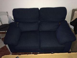 vendo sofá dos plazas + dos sillones reclinables