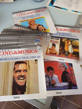 colección completa de 60 discos de vinilo
