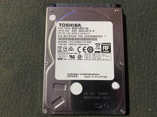 Disco duro 1 Tb Toshiba averiado de ps4