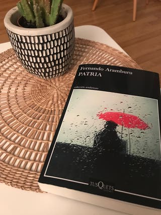 "Libro ""Patria"" de Fernando Aramburu"