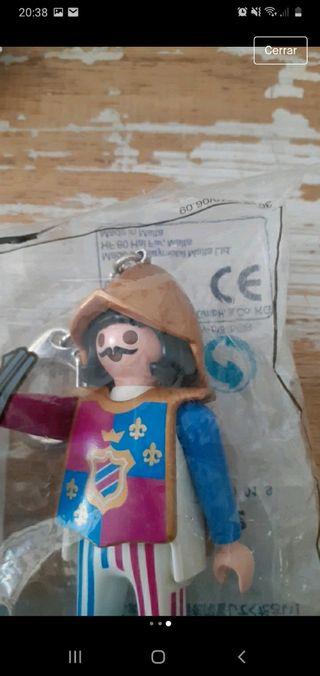 Llavero guerrero medieval