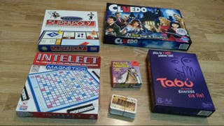 Varios juegos de mesa de distinto precio nuevos
