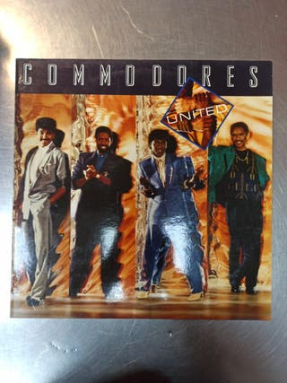 Commodores, United, Vinilo