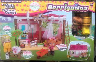 Barriguitas - Casa rural, muñeca, casa, accesorios