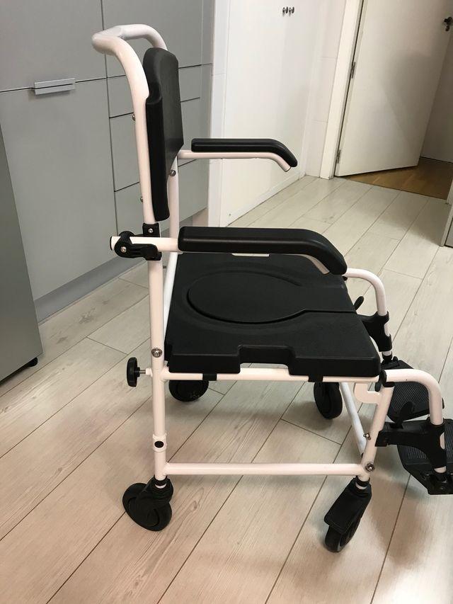 Silla ducha discapacitado minusvalido