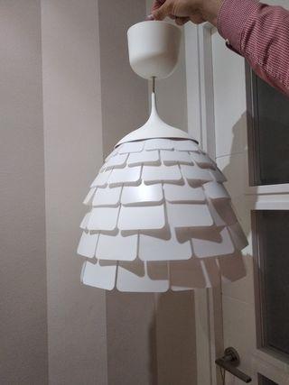 lámpara techo blanca Ikea