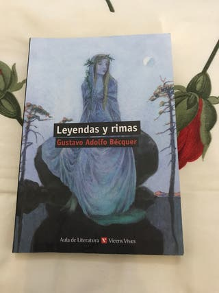 """LIBRO """"LEYENDAS Y RIMAS"""" de GUSTAVO ADOLFO BÈCQUER"""