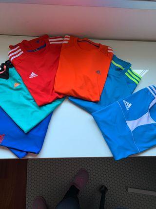 6 camisetas hombre Adidas Climate