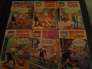 lote 6 comics