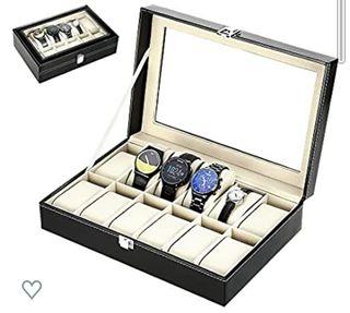 caja de almacenamiento de aluminio con 12 rejillas
