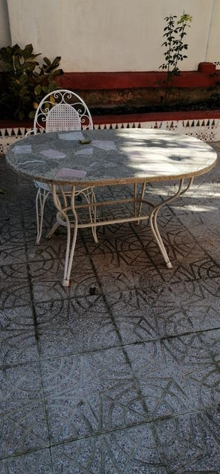 mesa para patio ...