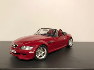 Bmw M roadster 1996 escala 1/18 Bburago