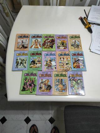 Comics One Piece del 1-14