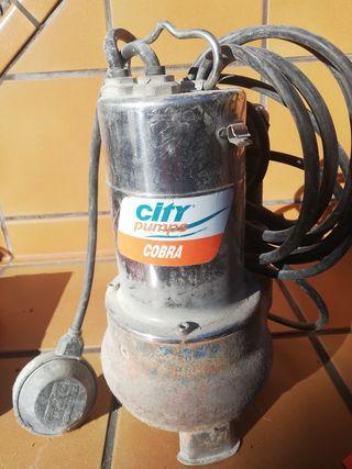 Bomba de achique sumergible de agua