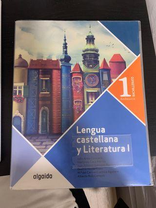 Libro de Lengua Castellana y Literatura 1Bachiller