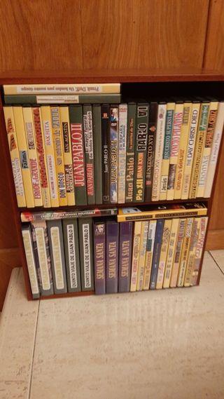 estanterías para CDs DVDs libros, etc.
