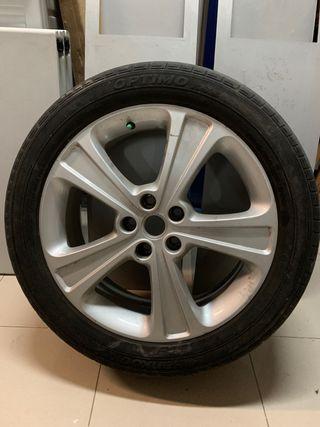 Llanta aluminio Chevrolet Captiva 19