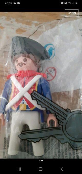 Llavero Playmobil guerrero francés