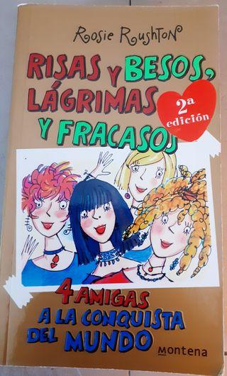 Libro 'Risas y besos, lágrimas y fracasos'