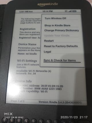 Kindle Libro Electronico