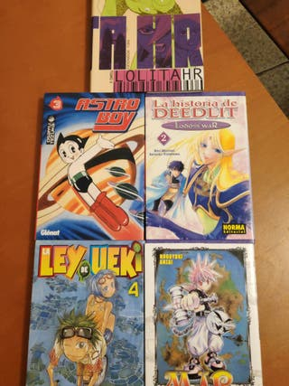 PACK 5 cómics (Manga)