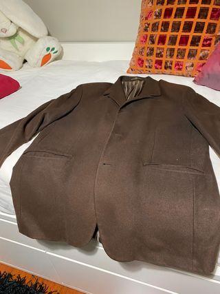 Americana/chaqueta caramelo