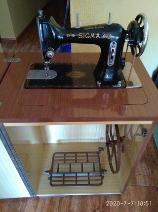 Máquina de coser plegable