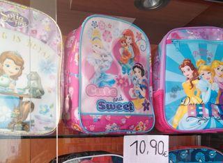 Mochilas Infantiles Princesas de Disney