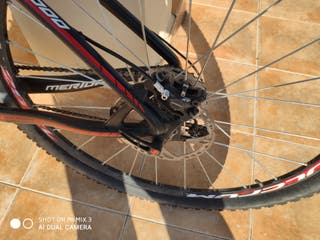 Bicicleta Merida 29 de carbono
