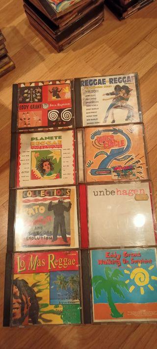 VARIOS CDs REGGAE.