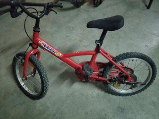 Bici niño aluminio