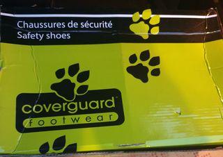 botas de seguridad número 45