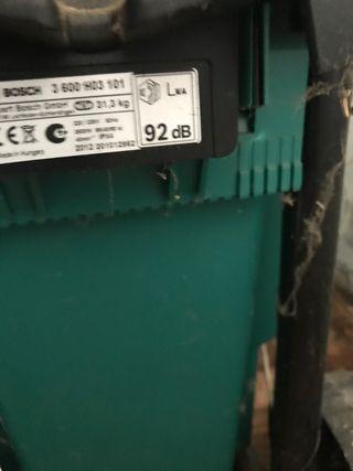 Biotrituradora Bosch axt 25